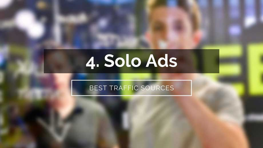 traffic sources affiliate marketing solo ads