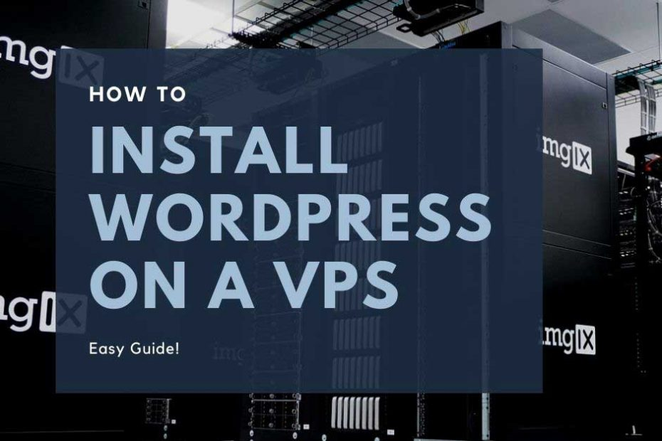install wordpress on a vps server